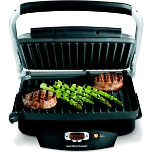 ... Indoor Electric Grill ~ Hamilton Beach Steak Lovers Countertop Cooker