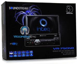 VR-750NB-SOUNDSTREAM-1-DIN-A-V-SOURCE-UNIT-7-FLIP-UP-LCD-BLUETOOTH-3-0