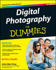 Digital Photography For Dummies by Julie Adair King (Paperback, 2012)
