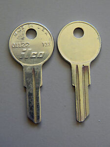 hon office max and office depot file cabinet key blanks- free code