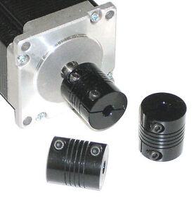 1 4 Flex Shaft Coupling Cnc 25 Servo Stepper Motor 6