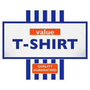 TESCO-VALUE-funny-logo-Stag-Hen-Night-Iron-On-T-Shirt-Transfer