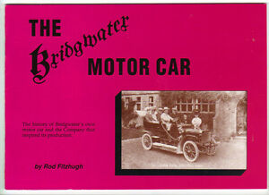 Rare Hard To Find The Bridgwater Motor Car Interesting