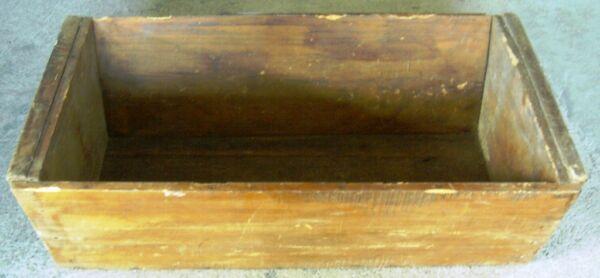 100% Vero Vecchia Vasca In Legno - Conca Per Macellai Sapore Aromatico
