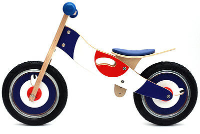 Kidzmotion Wooden Balance bike / running bike / first bike SRP £60