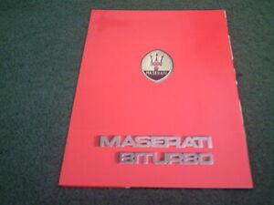 1982-to-1987-Maserati-Bi-Turbo-BITURBO-COUPE-FRENCH-10-PAGE-COLOUR-BROCHURE