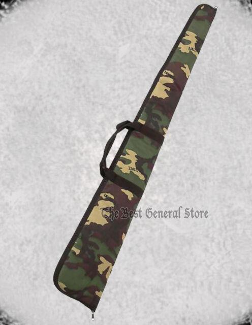 "54"" Gun Rifle Shotgun Soft Camo Carrying Case Bag Hunting BB"