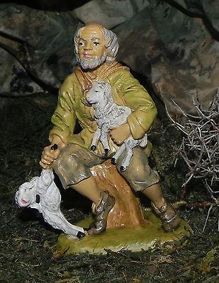 "5"" Euromarchi  Nativity Scene Figure Presepio Manger Creche Pesebre Pastor"
