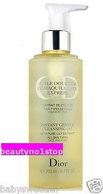 Christian Dior Instant Gentle Cleansing Oil 200ml / 6.7oz CD