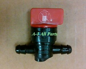 1-4-FUEL-SHUT-OFF-Valve-Straight-Inline-Cut-Off-Gas-Petcock-Motorcycle-Mower