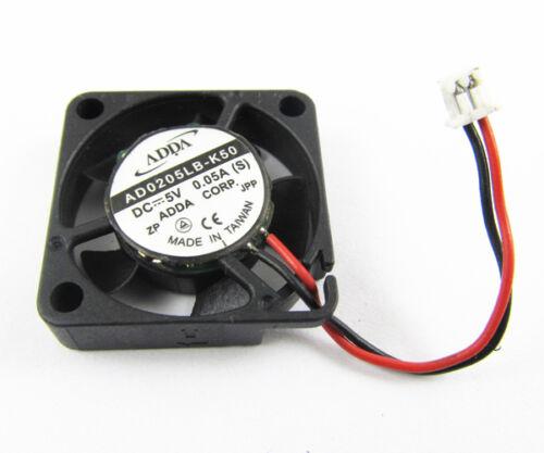 1pc ADDA AD0205LB-K50 5V 0.05A 25x25x 6mm 25mm 2506 Ball Bearing MINI DC fan