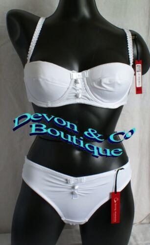 Ladies Loving Moments Padded Bra /& Thong Set White or Black 32,34,36,38 B,C,D