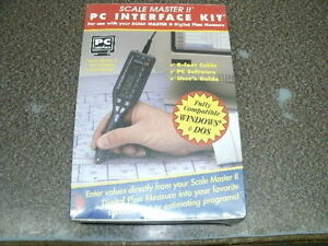 """SCALE MASTER II PC INTERFACE KIT # 6215, NEW, IN """"SEALED"""" ORIGINAL BOX"""