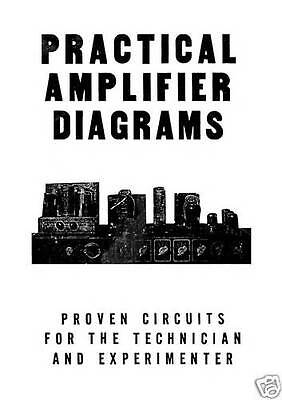 Practical AUDIO  Amplifier 45 Different Diagrams Great Book & Manuals CD