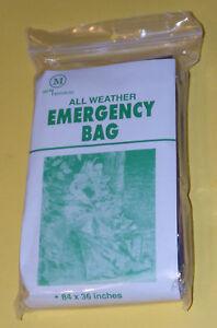NIP-Two-2-Individual-Packages-of-Survival-All-Weather-EMERGENCY-SLEEPING-BAGS