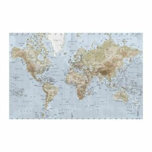 IKEA PREMIAR WORLD MAP PICTURE CANVAS GREAT PHOTO FROM IKEA GLOBE eBay