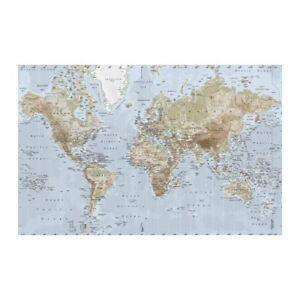 Premiar World Map Canvas Print By Ikea Globe Wall Hang