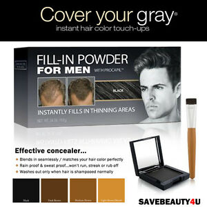 Cover-Your-Gray-hair-care-solution-Fill-in-Powder-For-Men-with-Procapil-4-colors