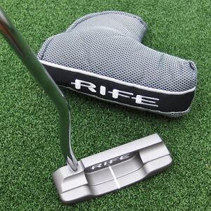 Rife-2-Bar-Golf-Clubs-460-Tour-Blade-Putter-CNC-35-Inch-Brand-NEW