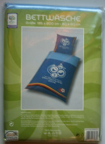 Orig.Bed Linen World Cup GERMANY 2006 OFFICIAL LOGO New , unused! RARE