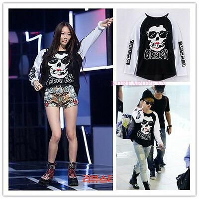SHINEE KEY 2NE1 F(x) Krystal SAME STYLE T-shirt KPOP NEW FREE SHIPPING