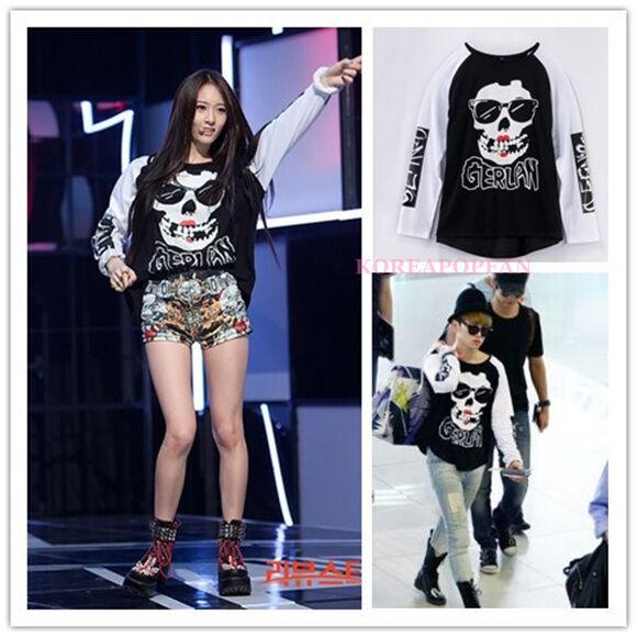 SHINEE KEY 2NE1 F(x) Krystal SAME STYLE T-shirt KPOP NEW FREE SHIPPING