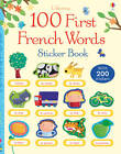 100 First French Words Sticker Book by Mairi Mackinnon (Paperback, 2013)
