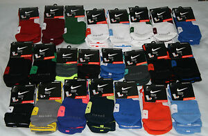 Nike-Elite-Crew-Basketball-Socks-All-Sizes-and-Colors-M-L-XL-Hyper-Platinum