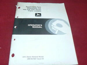 John-Deere-Round-Bale-Fork-Attachment-for-100-200-Loaders-Operators-Manual