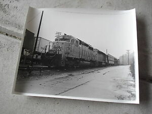 Vintage-8x10-Train-Photograph-Old-L-N-1256-Locomotive