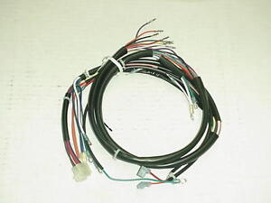 s l300 new 1978 1979 harley davidson fxe main wiring harness ebay Harley 12 Pin Wiring Harness at nearapp.co