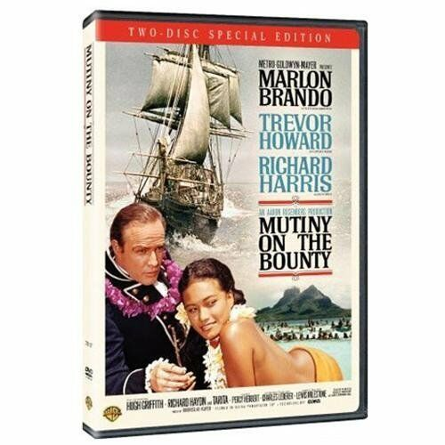 Mutiny on the Bounty (DVD, 2006, 2-Disc Set) Marlon Brando Richard Harris