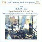 Janis Ivanovs - Ivanovs: Symphonies Nos. 8 & 20 (2004)