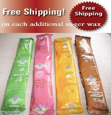 New 150 gm of Egypt 3 Packets Sweet Sugaring Sugar Wax Hair Removal 100% Natural