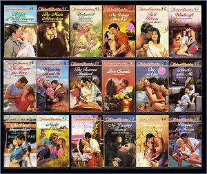 Lot-of-18-HARLEQUIN-TEMPTATION-Romance-Novels-Books-Mixed-Authors-Titles-B20