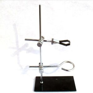 Portable Mini Lab Support Stand Height 30cm Ring Clamp