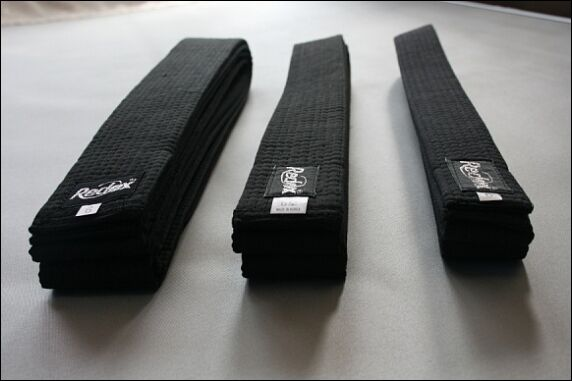 Martial Arts Belt, Karate Taekwondo Judo Jiu jitsu Black belt  width 4cm~6cm