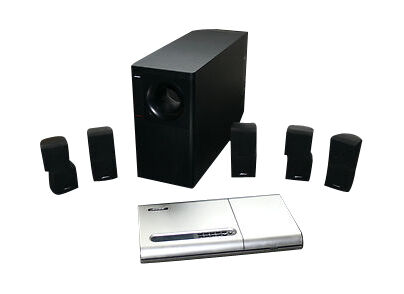 bose lifestyle 12 series ii 5 1 channel home theater system ebay. Black Bedroom Furniture Sets. Home Design Ideas