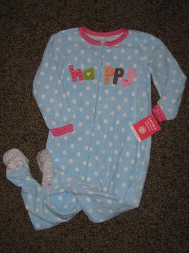NWT Carters Microfleece Sleeper Pajamas Nightgown U Pick 18m 2T 3T 4T Free ship