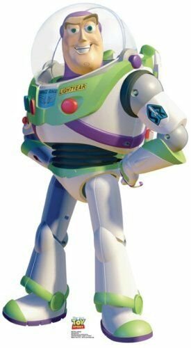 BUZZ LIGHTYEAR TOY STORY 3 LIFESIZE CARDBOARD STANDUP STANDEE CUTOUT POSTER PROP