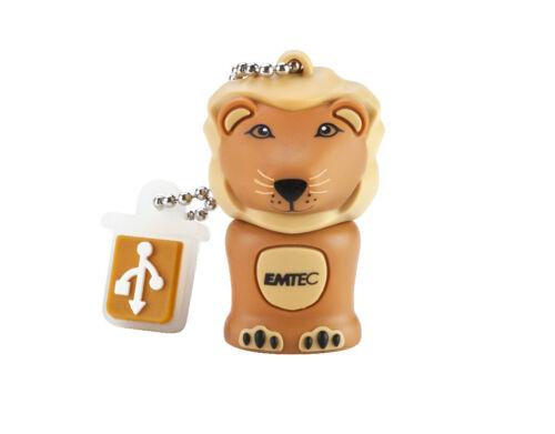 CLE USB 4 GO RAPIDE EMTEC LION /  4 gb lion stick key clef