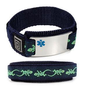 Image Is Loading Sport Medical Alert Id Bracelet Free Emergency Wallet