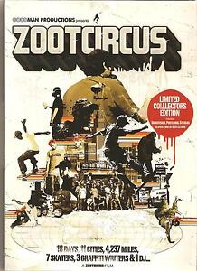 ZOOTCIRCUS-LIMITED-COLLECTORS-EDITION-DVD-SOUNDTRACK-POSTCARDS-amp-STICKERS
