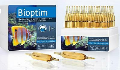 Prodibio Bioptim, nutrients for bacteria in saltwater 30 vials