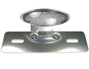led motorrad r cklicht bremslicht mit kennzeichenhalter. Black Bedroom Furniture Sets. Home Design Ideas