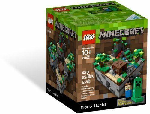 LEGO CUUSOO MICROBUILD MINECRAFT 21102 NEW SEALED LIMITED RELEASE GREAT GIFT