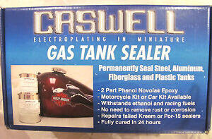 CASWELL PHENOL EPOXY FUEL AND OIL TANK SEALER PETROL BLUE