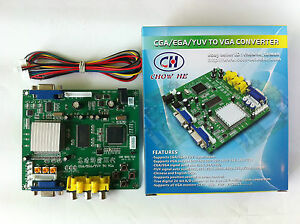 GBS-8200-Video-Converter-CGA-EGA-YUV-RGB-TO-VGA-Arcade-Jamma-Game-Monitor-to-LCD