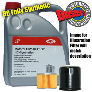 Ducati Monster 620 ie 2002 Filter & 4L Fully Synthetic Oil