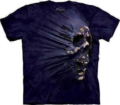 New SIDE BREAKTHROUGH SKULL T Shirt